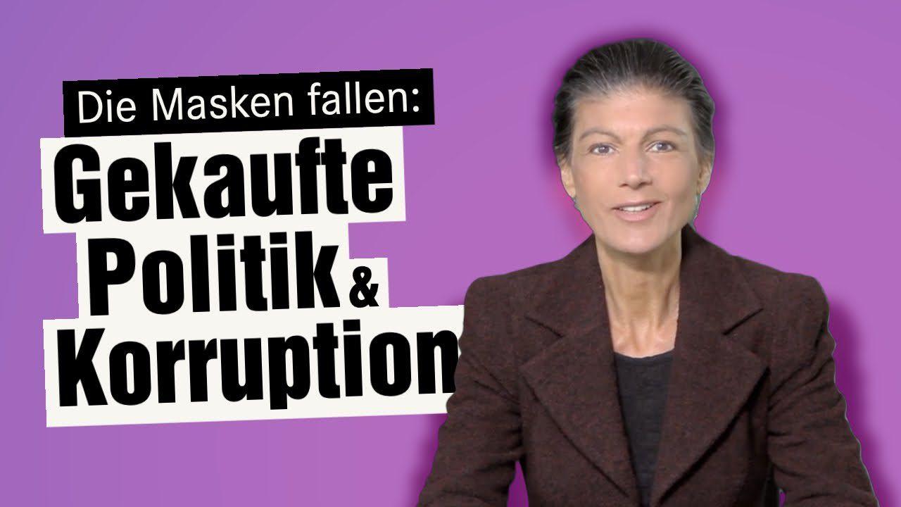 Die Masken fallen: Gekaufte Politik & Korruption