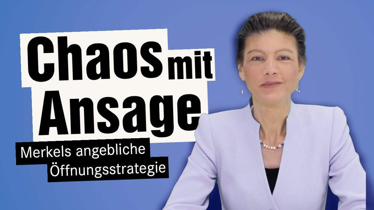 Chaos mit Ansage: Merkels angebliche Öffnungsstrategie